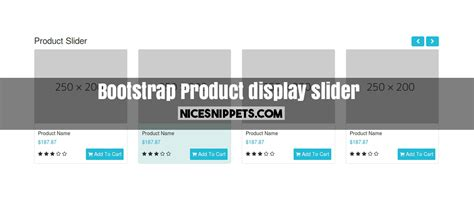 html layout using bootstrap best product display slider using bootstrap