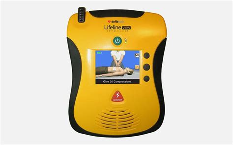 defibtech lifeline view aed aed defibtech lifeline view aed semi automatic defibrillator