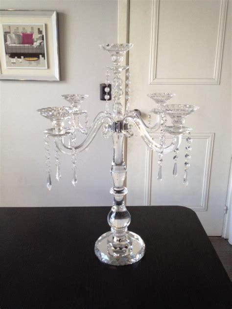 candelabros de cristal candelabros living express
