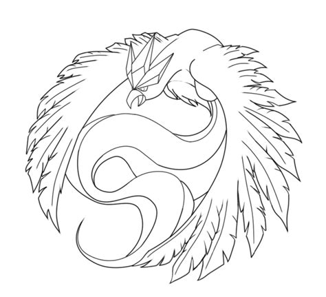 pokemon coloring pages articuno articuno project lineart by ernestovladimir on deviantart