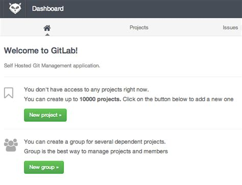 git tutorial digitalocean how to use the gitlab one click install image to manage