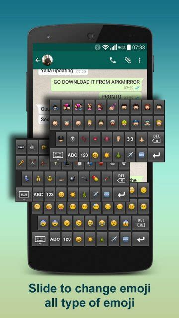 best emoji keyboard for android best emoji keyboard apk for android aptoide