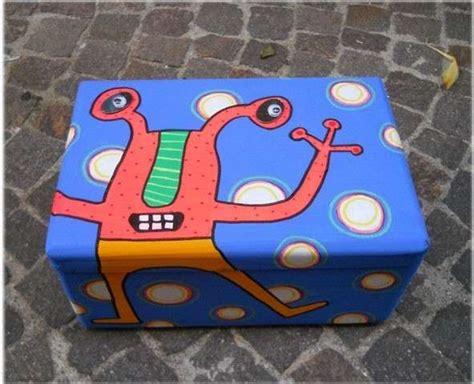 como decorar cajas de carton zapatos reciclaje con cajas de zapatos fotos ideas diy foto