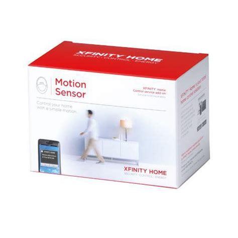 comcast motion sensor xfinity home motion sensor home