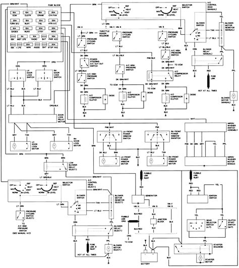 tpi wiring harness diagram wiring diagram and schematics