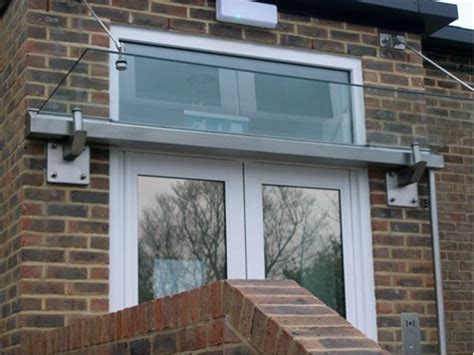 Awnings Portsmouth by Sc135 Frameless Style Glass Canopy Unit Offices Portsmouth