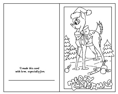 printable christmas cards in color back to project page index