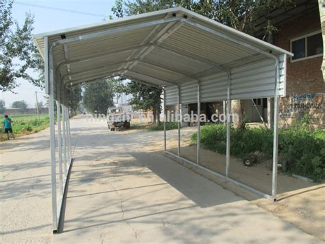 Metal Roof Car Shelter by New Gable Roof Carport 6x 6m Car Shelter Vertical Backyard