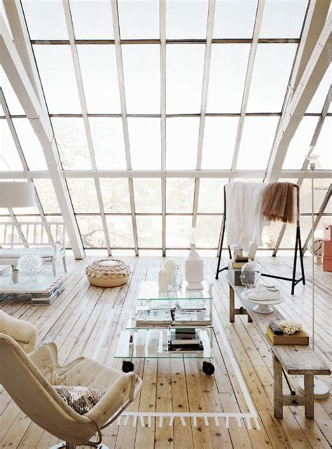 white loft white loft with windows in sweden interior
