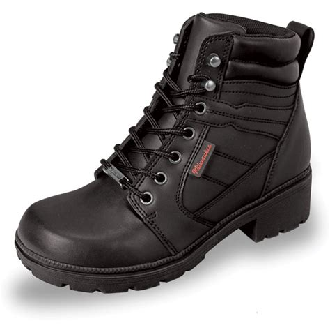 lightweight motorcycle boots mens milwaukee motorcycle clothing co women s rally black