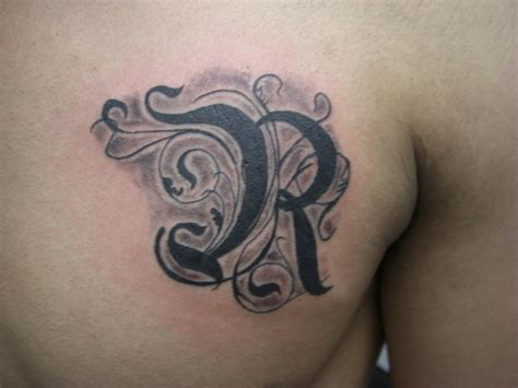 tattoo of alphabet r letter r tattoo gallery www pixshark com images