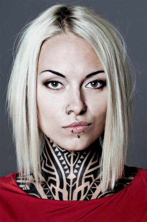 female tattoo models 34 neck tattoos designs for