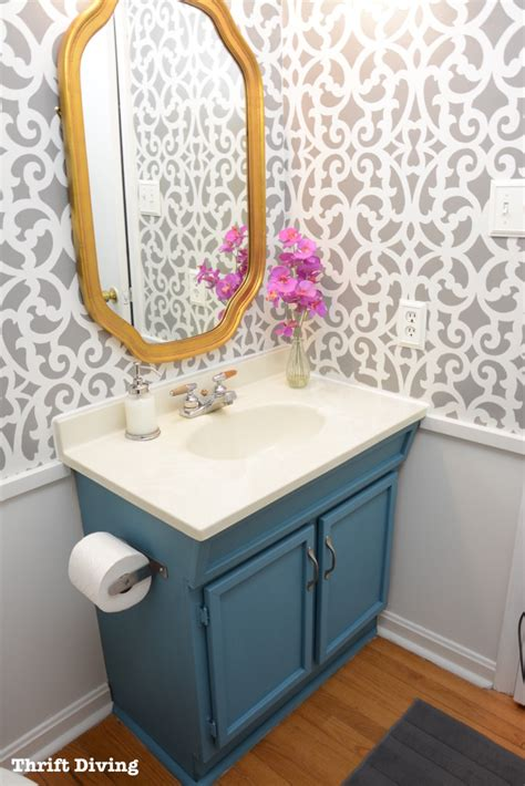how to paint over wallpaper in a bathroom 10 helpful tips for making the most of your small bathroom