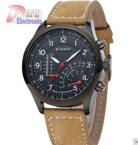 reloj correa cuero reloj curren correa cuero reloj deportivo s 68 00 en