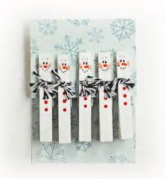 ben franklin crafts and frame shop d i y snowman clothespins