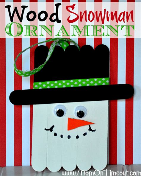 Easy Christmas Gift Crafts - homemade christmas ornaments for a beautiful tree