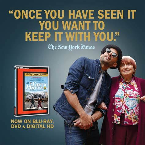 agnes varda faces places dvd faces places on twitter quot ny times says you want to keep