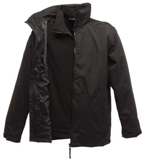 Comfortable Jackets by Mens Regatta Comfortable Waterproof Zipped Classic 3