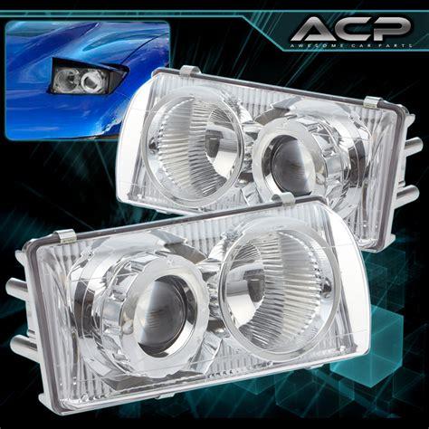 how to replace 2008 chevrolet corvette headlight lens 1997 2004 chevy corvette c5 z06 chrome housing projector headlight left right ebay