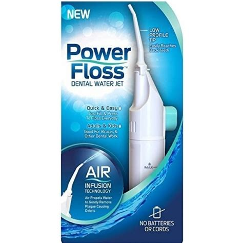 Itech Energy Water System by Power Floss Dental Water Jet For 6 99 Itech Deals