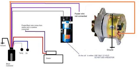 what does a solenoid resistor do how to replace the original prestolite alternator by a new 1 wire alternator