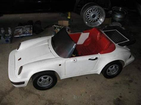 does anyone a power wheels 911 turbo battery powered