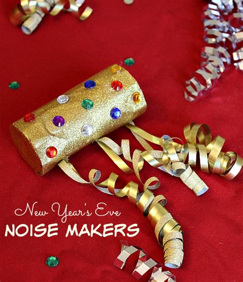 how to make a new year new year s noise maker craft for the adventures