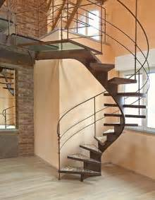 Spiral Staircase Design Steel Spiral Staircase Reuses Scrap Wood Shavings