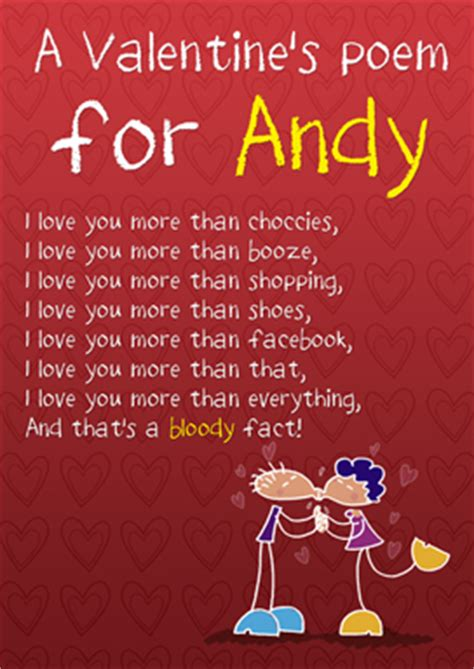 cheeky saucy valentines poems inc friends s day personalised cards
