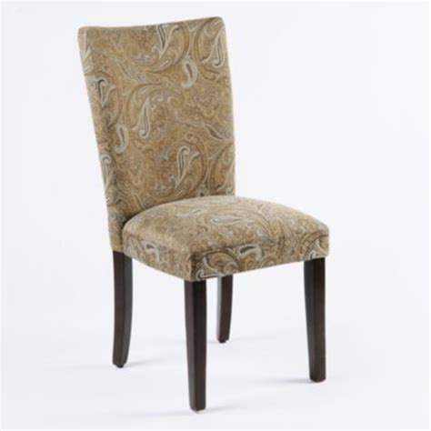 paisley parsons chair traditional dining chairs by