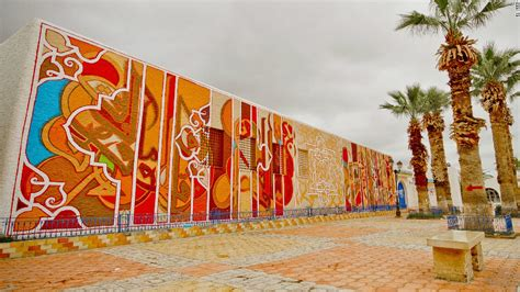 Wall Mural Maps telling the story of the arab spring an interactive
