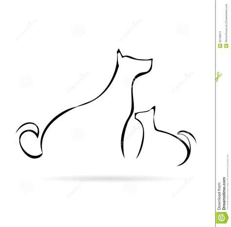 animaux sexe amour pets 16 cheval logo stylis 233 de chat et de chien images stock image