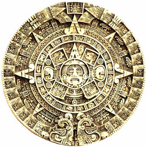 Aztec Calendar Symbols Aztec Sun Symbols