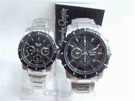Alexandre Christie Original 6141 Ss White jual alexandre christie ac 6141 white steel black