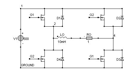 single phase pwm inverter circuit diagram pwm for a mosfet in a single phase inverter