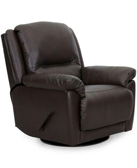 hughstin leather swivel glider recliner hughstin leather swivel glider recliner furniture macy s
