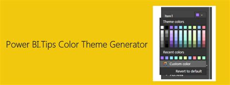 color theme generator online color theme generator power bi tips and tricks
