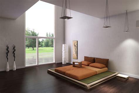 arredare il letto camere da letto in stile giapponese come creare un