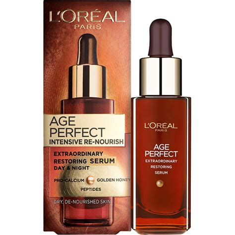 s 233 rum age intensive re nourish serum de l oreal
