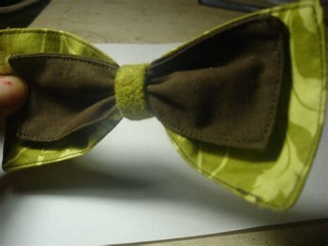 fabric bow     hair bow jewelry making