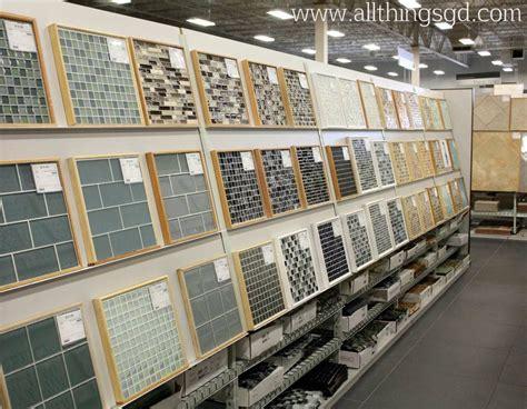 glass tile displays at the tile shop tileshop all