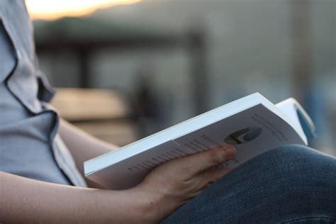 Light Blue Backgrounds Free Photo Reading Book Reading Man Free Image On