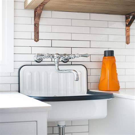 sink for laundry room vintage laundry room faucet design ideas