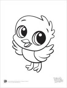 baby animal coloring pages learning friends baby animal coloring printable from