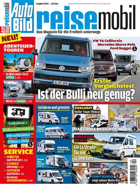 Auto Bild Magazin by Auto Bild Reisemobil Magazin I Cing I Cing