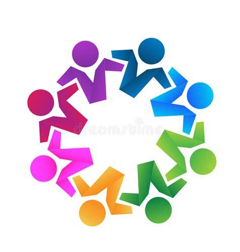 Logo Business Partners Teamwork Stock Vector Image 51889609 Unity Logo Communication Logo