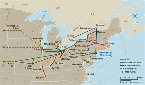 port of new york and new jersey intermodal rail