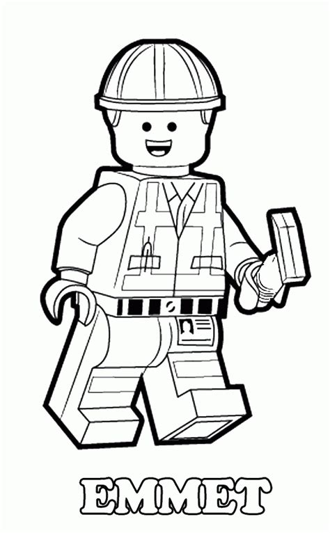 Lego Download Coloring Pages | lego movie coloring pages coloring home
