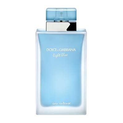 dolce and gabbana light blue pour femme dolce gabbana light blue eau intense pour femme 100ml