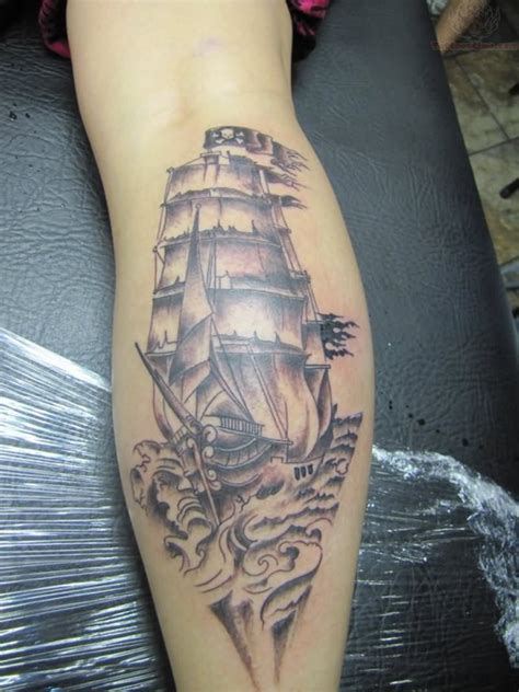 pirate ship tattoo design pirate tattoos designs ideas and meaning tattoos for you